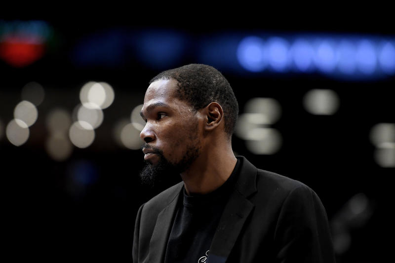 If he were totally healthy, Kevin Durant said he probably would have sat out the NBA's restart plan in Florida due to concerns about the coronavirus pandemic.