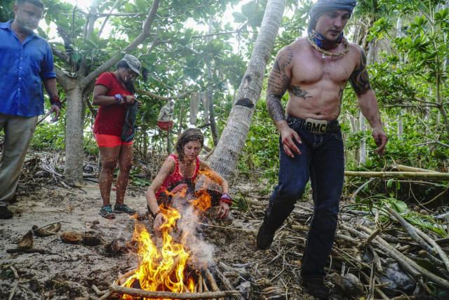 Hali Ford builds fire on Survivor: Game Changers