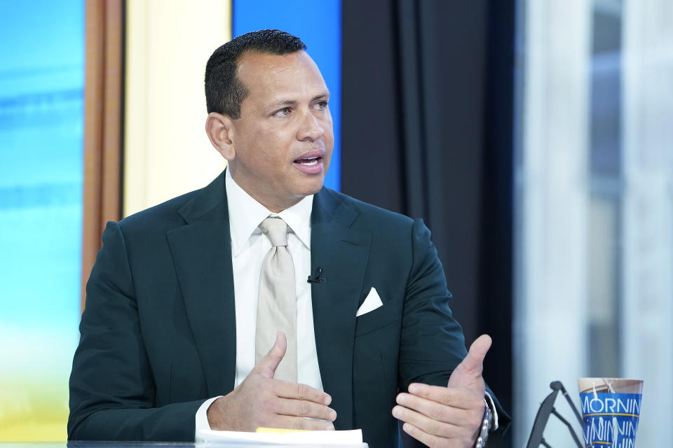 Alex Rodriguez's rental car was reportedly broken into after the San Francisco Giants' game against the Phillies on Sunday night in San Francisco.