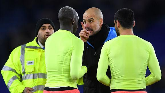 Pep Guardiola,Benjamin Mendy