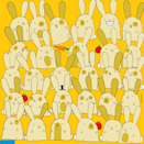 "<p>Artist Gergerly Dudas creates visually beautiful and challenging brain teasers that trick your mind into hiding patterns. In this whimsical drawing, each of the bunnies has a pair, except for one. Can you <a href=""https://thedudolf.blogspot.com/2019/11/which-bunny-has-no-pair-which-bunny-has.html"" rel=""nofollow noopener"" target=""_blank"" data-ylk=""slk:find it"" class=""link rapid-noclick-resp"">find it</a>? </p>"