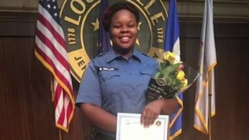 Image: Breonna Taylor was a qualified EMT (Family photo via NBC12)