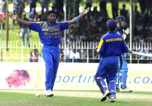 Sri Lanka's Chaminda Vaas has one hat-trick at home and one abroad.