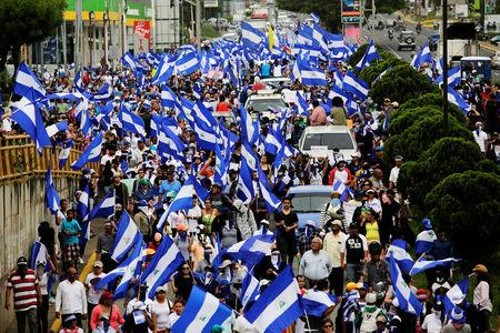 Nicaraguan protesters under siege for demanding democratic reform