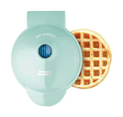 Dash DMW001AQ, Mini Waffle Maker Machine for Individuals, Paninis, Hash Browns, & Other On the…