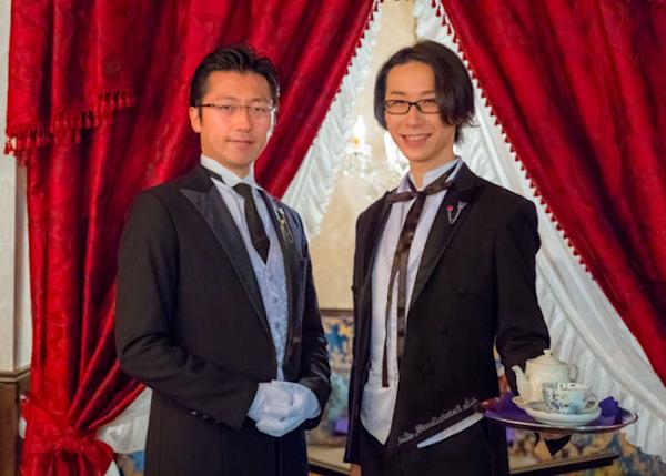 Like Maid Cafes, for Ladies: Dining at Tokyo's Swallowtail Butler Café! (Video)