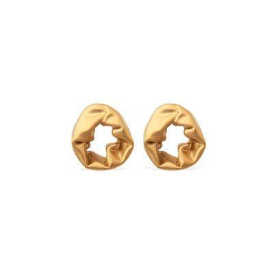 "<p><a class=""link rapid-noclick-resp"" href=""https://completedworks.com/collections/jewellery-earrings/products/scrunch-gold-vermeil-earrings"" rel=""nofollow noopener"" target=""_blank"" data-ylk=""slk:SHOP"">SHOP</a></p><p>Statement earrings make for a great gift and none are more eye-catching than this pair from London jewellery brand Completed Works. Beautifully tactile, bold and elegant, their gold scrunch design have earned cult status amongst the fashion set.</p><p>£35o, <a href=""https://completedworks.com/collections/jewellery-earrings/products/scrunch-gold-vermeil-earrings"" rel=""nofollow noopener"" target=""_blank"" data-ylk=""slk:Completed Works"" class=""link rapid-noclick-resp"">Completed Works</a></p>"