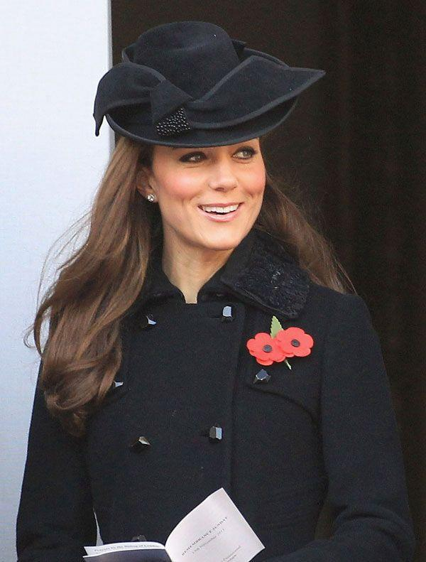 <p>Flawless in a Diane Von Furstenberg coat and Jane Corbett hat at a Remembrance Day service at the Cenotaph war memorial in London</p>