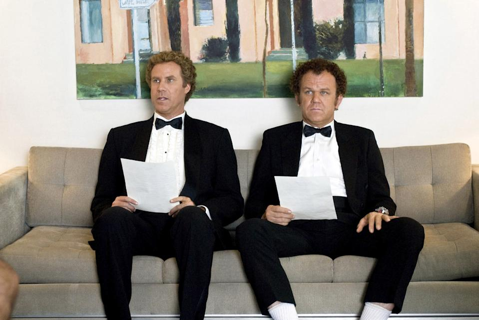 """<h1 class=""""title"""">STEP BROTHERS, from left: Will Ferrell, John C. Reilly, 2008, © Columbia/courtesy Everett Collection</h1><cite class=""""credit"""">Everett </cite>"""