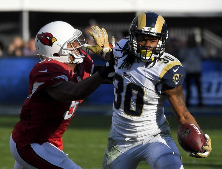Todd Gurley is looking to rebound from a sophomore slump. (AP)