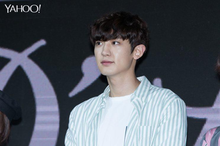 Chanyeol at Skechers K-pop dance competition