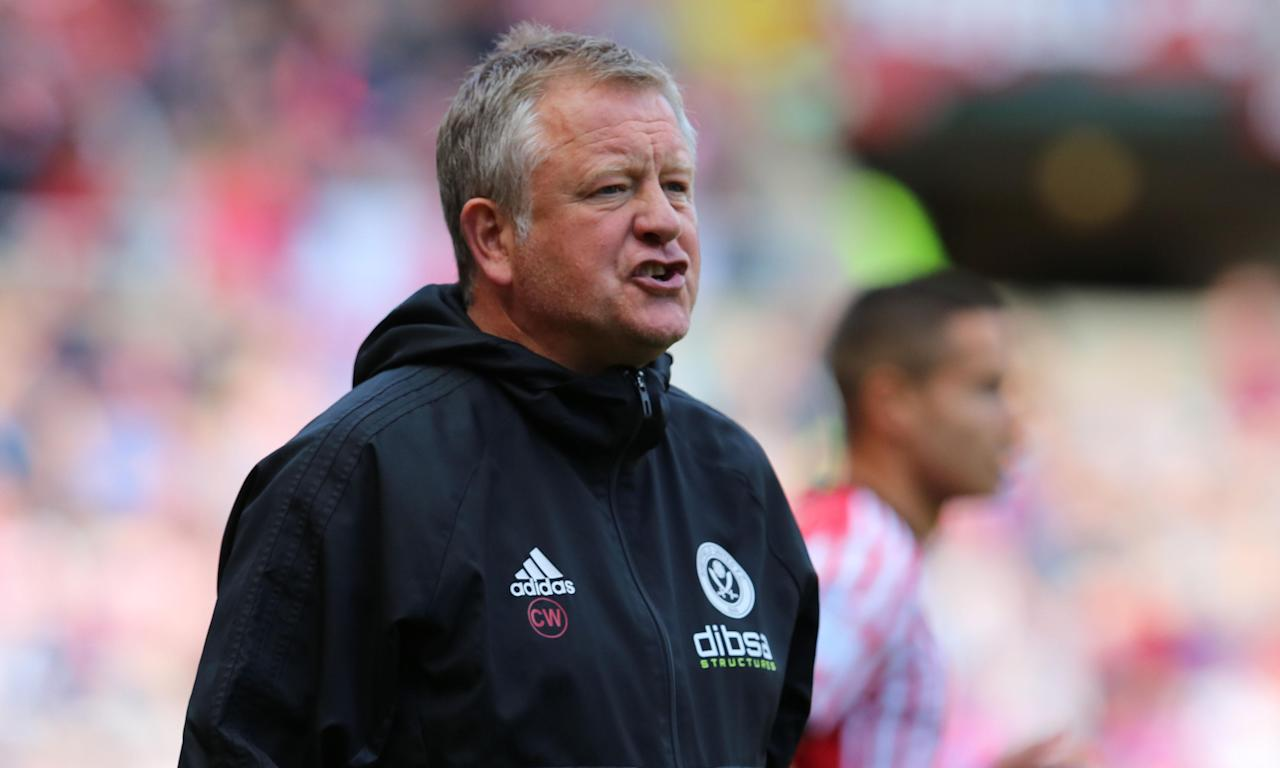 Sheffield United's Chris Wilder says his team have nothing to lose against Wednesday, who have spent big after losing in the play-off final last season.