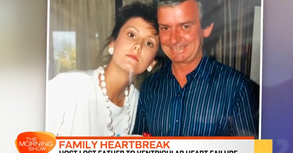 natalie barr and her father