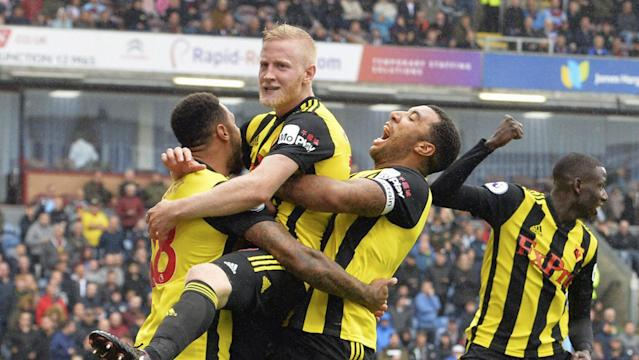Hughes' goal was magnificent, albeit given plenty of room to operate from Burnley.