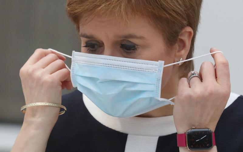 Nicola Sturgeon has said she will keep the situation under review - Getty/WPA Pool