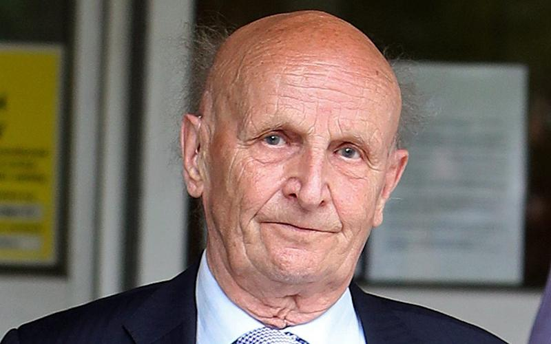 87-year-old David Lord who has been spared jail - Credit: PA