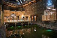 At an old salt mine in southern Poland, former Covid sufferers are offered salt therapy