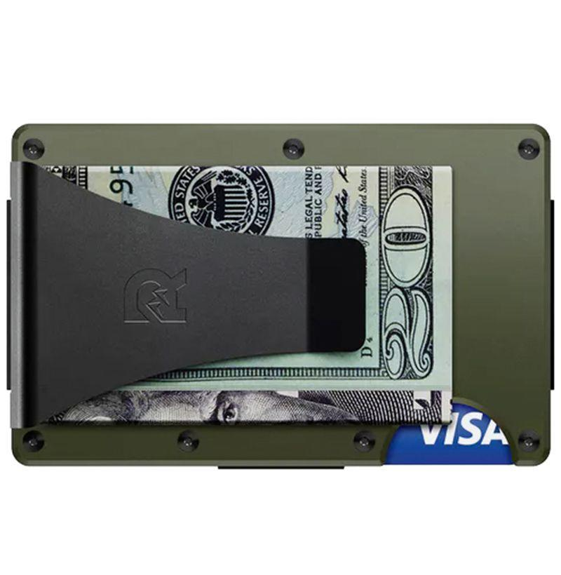 """<p><strong>Ridge Wallet</strong></p><p>huckberry.com</p><p><strong>$75.00</strong></p><p><a href=""""https://go.redirectingat.com?id=74968X1596630&url=https%3A%2F%2Fhuckberry.com%2Fstore%2Fridge-wallet%2Fcategory%2Fp%2F53970-aluminum-wallet-money-clip&sref=https%3A%2F%2Fwww.esquire.com%2Flifestyle%2Fg19621074%2Fcool-fathers-day-gifts-ideas%2F"""" rel=""""nofollow noopener"""" target=""""_blank"""" data-ylk=""""slk:Buy"""" class=""""link rapid-noclick-resp"""">Buy</a></p><p>Not only can dad ditch his overstuffed wallet, he can ditch the wallet completely. This aluminum card carrier holds up to 12 cards and plenty of cash, though you'd hardly be able to tell. It's minimal and dead useful, just like he appreciates.</p>"""
