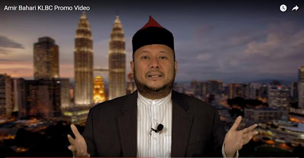 Screengrab of Amir Bahari from his campaign video for the KL Bar election on Feb 23, 2017. — Picture via YouTube/Amir Bahari