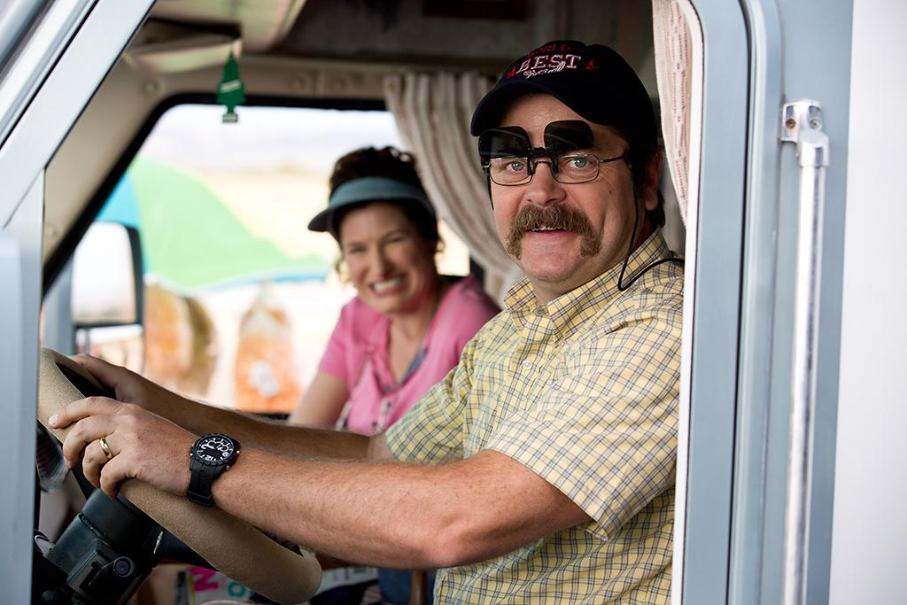 "Nick Offerman in Warner Bros.' ""We're The Millers"" - 2013"