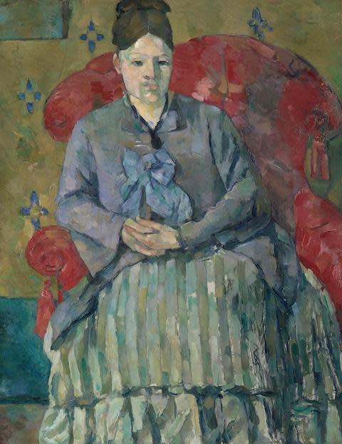 <span>Madame Cezanne in a Red Armchair, c 1877</span> <span>Credit: Museum of Fine Arts, Boston </span>