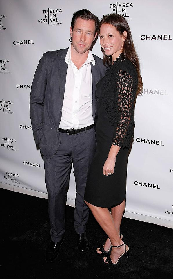 "Ed Burns and his supermodel wife Christy Turlington are supporters of the Tribeca Film Fest. Over the years, Ed has premiered several of his movies at the festival, which he has described as being ""like a gift from God."" Jemal Countess/<a href=""http://www.wireimage.com"" target=""new"">WireImage.com</a> - April 28, 2008"