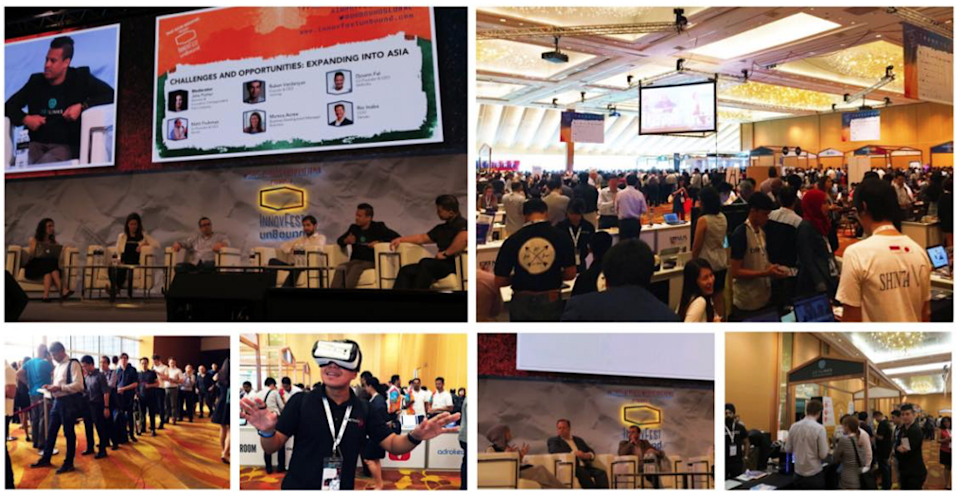 10,000 attendees at InnovFest, Singapore