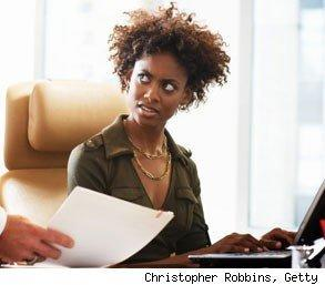 confused woman interview questions
