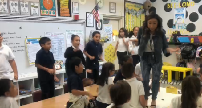 'Turns Out I'm 100% That Smart': California Teacher Motivates Kids With Lizzo Remix
