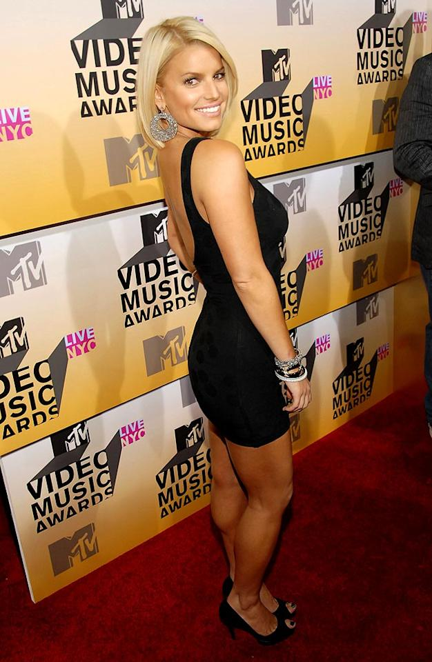 """J Simp, at the 2006 MTV Video Music Awards, represents for the network that made her a real star. Kevin Mazur/<a href=""""http://www.wireimage.com"""" target=""""new"""">WireImage.com</a> - August 31, 2006"""