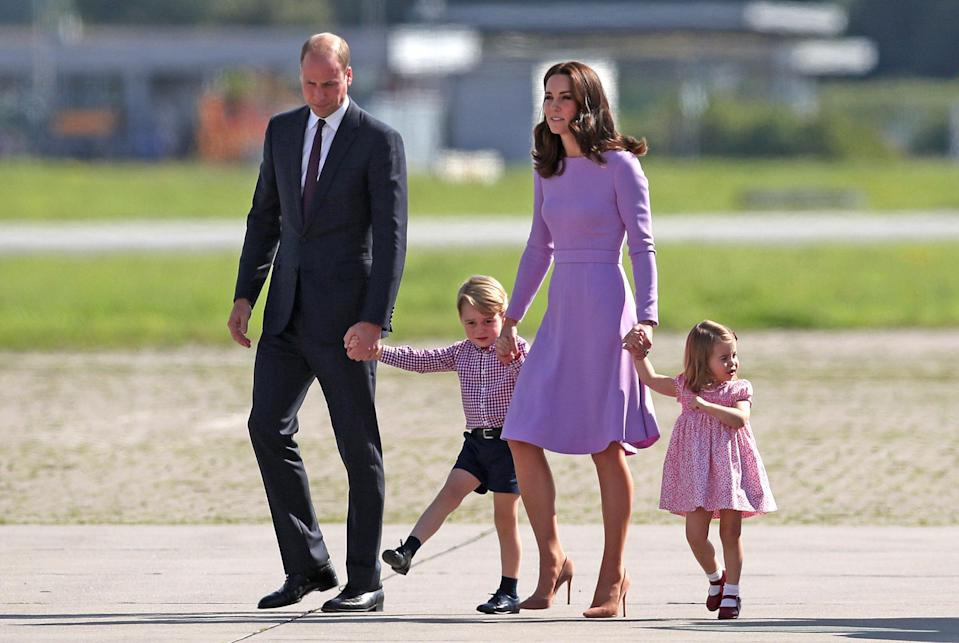 Having Kids have said it isn't sustainable for the royal family to have more children? [Photo: PA]