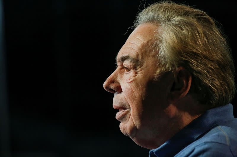 Lloyd Webber urges UK to set date for theatres to open at full capacity