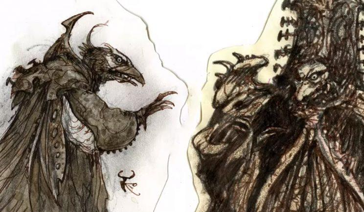The Dark Crystal: Age of Resistance even has some awesome concept art - Credit: Netflix