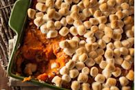 """<p>Lots of casserole options to be had at Christmas, but in Indiana, the sweet potato one—extra marshmallows preferred—prevails.</p><p>Get the <a href=""""https://www.delish.com/cooking/recipe-ideas/a21960705/best-sweet-potato-casserole-marshmallows-pecans-recipe/"""" rel=""""nofollow noopener"""" target=""""_blank"""" data-ylk=""""slk:recipe"""" class=""""link rapid-noclick-resp"""">recipe</a>.</p>"""