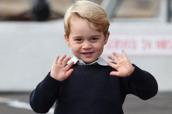 Off to school: Prince George will attend Thomas's Battersea: Andrew Milligan/PA Wire