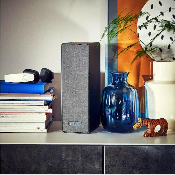 "This speaker hits that sweet spot of being both stylish and super-practical. Get it <a href=""https://www.ikea.com/ca/en/p/symfonisk-wifi-bookshelf-speaker-black-00357561/"" target=""_blank"" rel=""noopener noreferrer"">at Ikea</a> for $149."