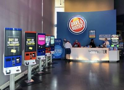 Diebold Nixdorf's newest K-two interactive kiosks are designed to provide Dave & Buster's customers with a more enhanced, efficient and engaging experience while they