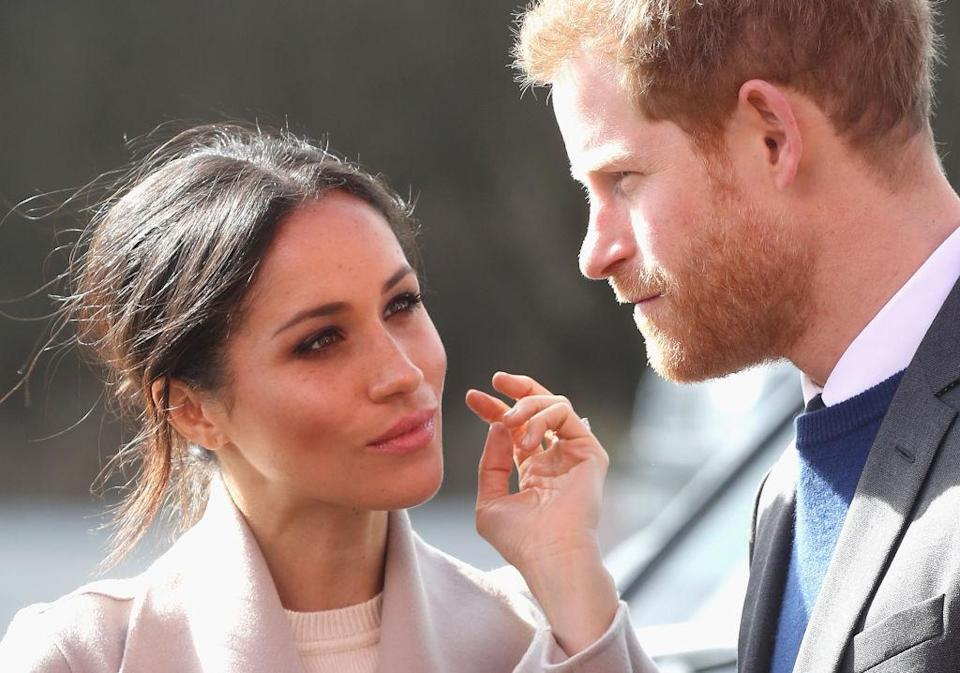 <p><strong>When: March 23, 2018</strong><br>We can't wait to see what Meghan will wear for her wedding! <em>(Photo: Getty)</em> </p>