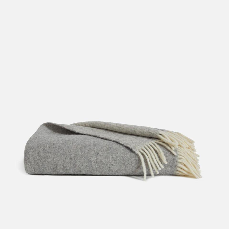 """<p><strong>Brooklinen</strong></p><p>brooklinen.com</p><p><strong>$194.65</strong></p><p><a href=""""https://go.redirectingat.com?id=74968X1596630&url=https%3A%2F%2Fwww.brooklinen.com%2Fproducts%2Fbrooklinen-throw-blanket&sref=https%3A%2F%2Fwww.goodhousekeeping.com%2Flife%2Fmoney%2Fg34359818%2Fbrooklinen-amazon-prime-day-sale-2020%2F"""" rel=""""nofollow noopener"""" target=""""_blank"""" data-ylk=""""slk:Shop Now"""" class=""""link rapid-noclick-resp"""">Shop Now</a></p><p>Made with super-soft baby Alpaca hair, this throw blanket will make your next Netflix and chill session equal parts cozy and chic. </p>"""