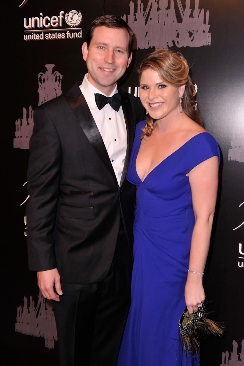 Henry Hager and UNICEF Next Generation Chair, Jenna Bush Hager attend The Ninth Annual UNICEF Snowflake Ball at Cipriani, Wall Street on December 3, 2013 in New York City. (Photo by Stephen Lovekin/Getty Images for UNICEF) -- Husband of Jenna Hager Bush