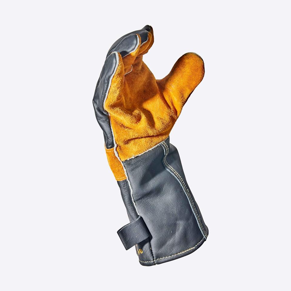 Gloves—not mittens—provide optimal dexterity and safety when you inevitably need to move a still-hot grill from one place to another, or remove grates to reup hot coals. You can grasp, move, and maneuver with ease, making burns and accidents one less thing to sweat over.