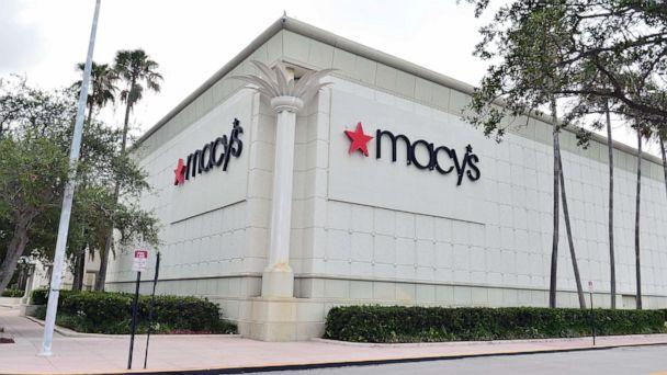 PHOTO: In this July 21, 2020, file photo, an exterior view of Macy's retail store is shown in Pembroke Pines, Fla. (Johnny Louis/Getty Images, FILE)