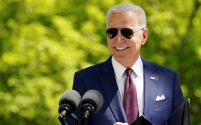 U.S. President Biden will attend the G7 summit in Cornwall this week - KEVIN LAMARQUE/Reuters