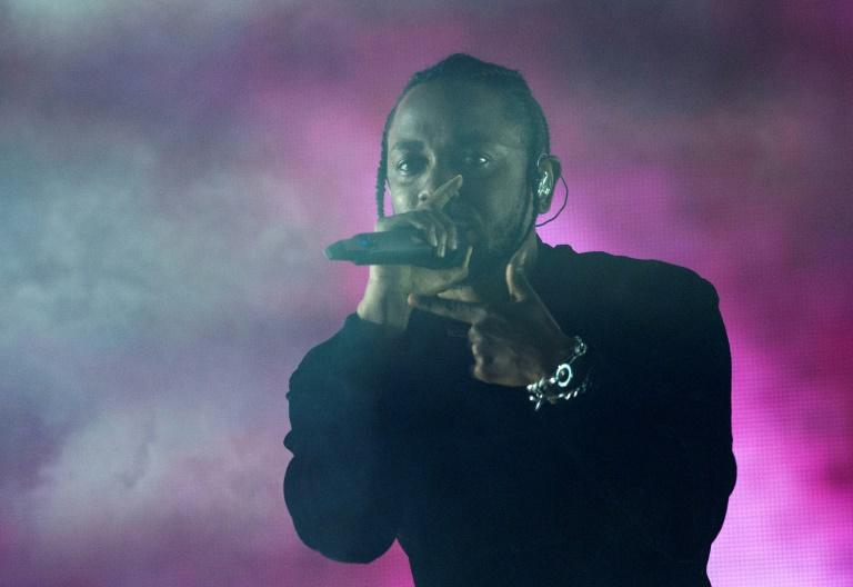 Rapper Kendrick Lamar performs at the Coachella Valley Music And Arts Festival in Indio, California on April 16, 2017