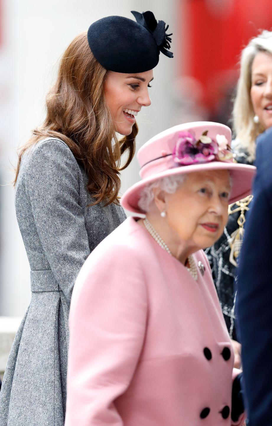 <p>Instead, members of the royal family must walk backwards and pivot forward.</p>