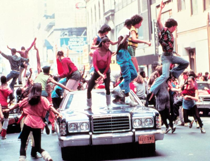The iconic street dance number from 'Fame.' (Photo: Everett Collection)