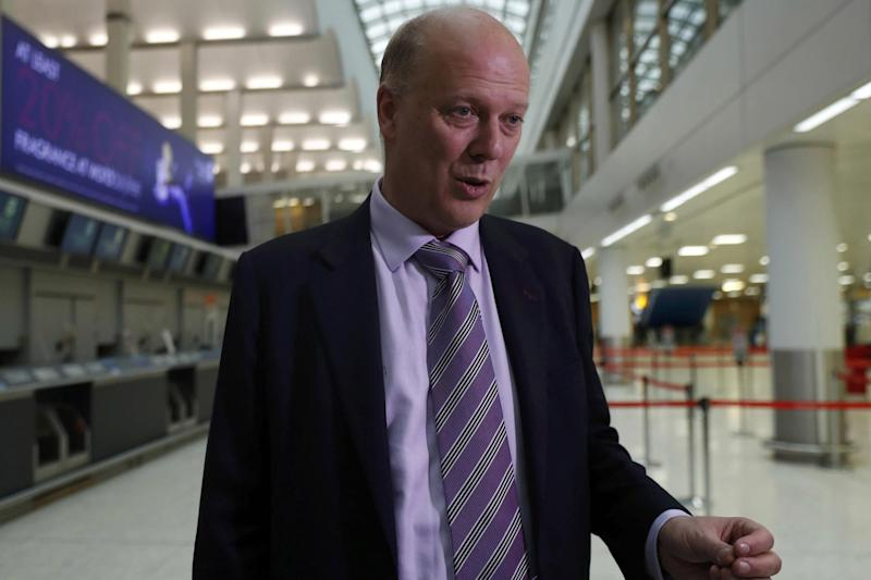 Transport Secretary: Chris Grayling has proposed to remove first class seats from trains: REUTERS