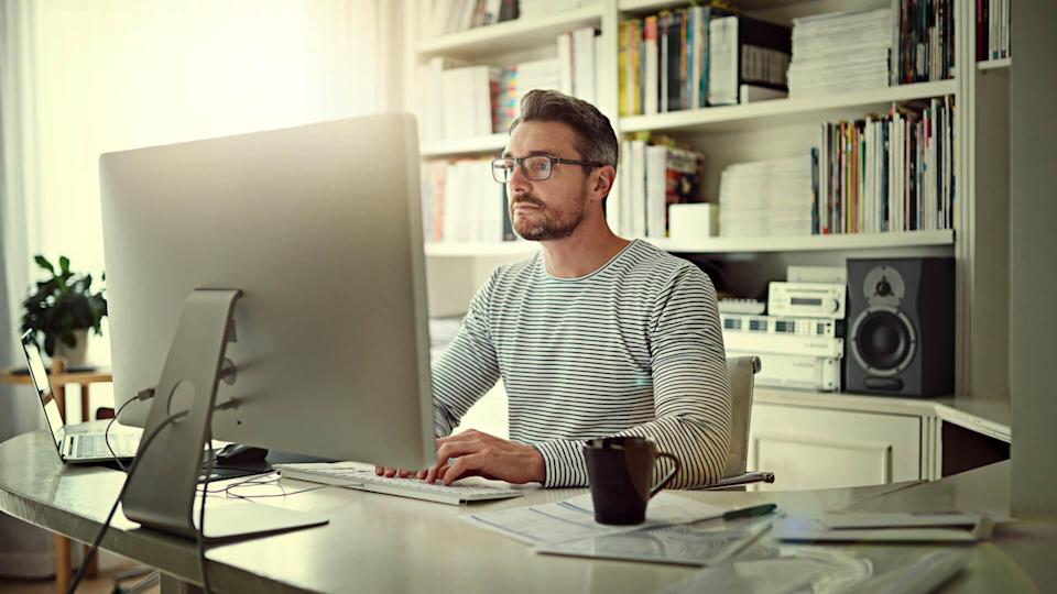"""<p>If you're self-employed or own a small business, your SEP IRA or solo 401(k) contribution limits will realize a small bump in 2021. Based a percentage of your salary, you're able to contribute $58,000 in 2021 — up from $57,000 in 2020. Additionally, the compensation limit used as part of the savings calculation will rise to $290,000 in 2021 — up from $285,000 in 2020.</p> <p><em><strong>Which Is Better? <a href=""""https://www.gobankingrates.com/retirement/401k/roth-401k-vs-traditional-401k/?utm_campaign=1035638&utm_source=yahoo.com&utm_content=19"""" rel=""""nofollow noopener"""" target=""""_blank"""" data-ylk=""""slk:401(k) vs. Roth 401(k)"""" class=""""link rapid-noclick-resp"""">401(k) vs. Roth 401(k)</a></strong></em></p> <p><small>Image Credits: Cecilie_Arcurs / Getty Images</small></p>"""