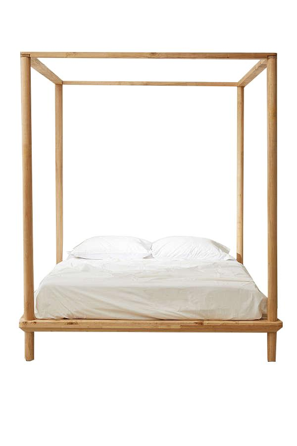 "<p><p><a rel=""nofollow"" href=""https://www.urbanoutfitters.com/shop/bed-eva-canopyqueen?category=SEARCHRESULTS&color=020"">Eva Wooden Canopy Bed</a>, $1,198</p>"