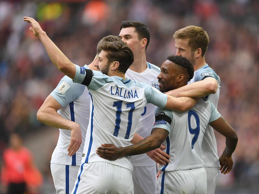 Adam Lallana believes Jermain Defoe is just what this current England team need: Getty